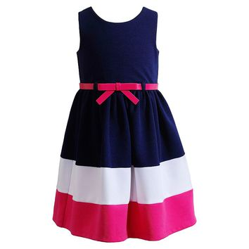 Youngland Colorblock Dress - Girls