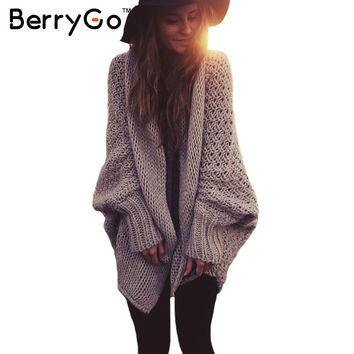 Cardigan Sweater Oversized Knitted Comfy Boho Chic Soft