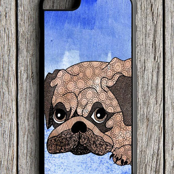 Painting Pug iPhone 6 Case