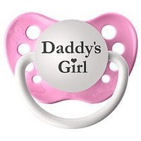 Daddy's Girl (Pink) Pacifier
