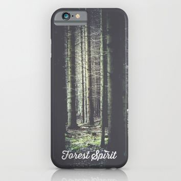 Forest feelings iPhone & iPod Case by HappyMelvin | Society6
