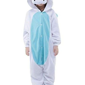 ONETOW Unisex Children Kids Stitch Unicorn Kugurumi Pajamas Children's Unisex Cosplay Costume Onesuit Halloween Party Animal Outfit
