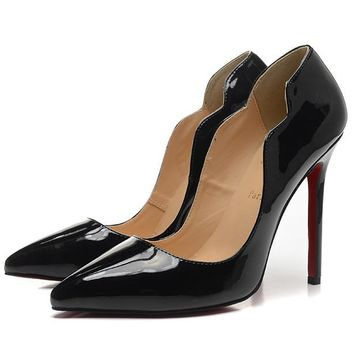 Christian Louboutin Fashion Edgy Pointed Heels Shoes