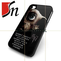 Harry Potter and the deathly hallows dobby Design for iPhone 4/4s Case, iPhone 5 Case, Samsung Galaxy s3 i9300 and s4 i9500 case