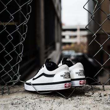 Vans Vault x The North Face Old Skool LX - White