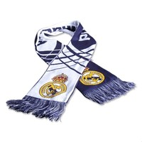 Real Madrid Home Scarf - WorldSoccerShop.com