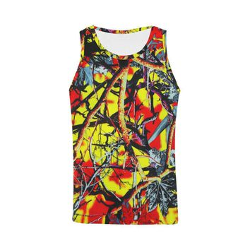 Country Boy Design 1 Men's All Over Print Tank Top