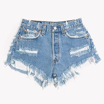 Eli Vintage High Waisted Cut Off Shorts