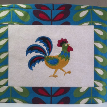 Rooster Toaster Cover - 2 Slice Toaster