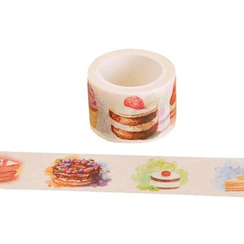 Double Width Cake and Cupcakes Washi Tape