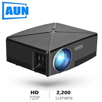 AUN MINI Projector C80 UP, 1280x720 Resolution, Android WIFI