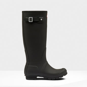 Hunter - Original Tall Matte Black Rain Boot