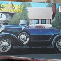 eBlueJay: MINICRAFT 1931 FORD MODEL A DELUXE ROADSTER MODEL KIT 1:16
