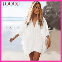 Loose Beach Wear Cover Up Over Swimsuit Summer 2016