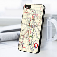 London Subway iPhone 5 Or 5S Case