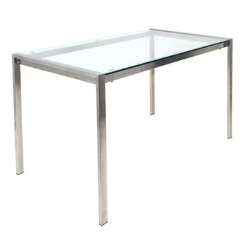 Fuji Dining Table Clear