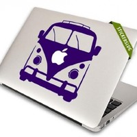 Retro Hippie Van Decal for Apple Macbook Air Pro