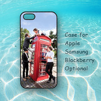 1D One Direction plastic or silicone case for iphone 4 case,iphone 5 case,ipod 4 or 5 case,Samsung series, blackberry series