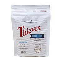 Young Living Thieves Essential Oil Infused Cough Drops - 30 Drops