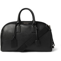 Burberry Shoes & Accessories - Textured-Leather Holdall Bag | MR PORTER