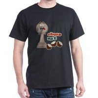 Chess Pawn, Chess Nut and Chestnuts Dark T-Shirt