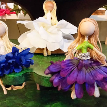 Fairy Dolls, Fairies, Fairy Figurines, Fairy, Flower Fairies, Flower Fairy Figurines, Flower Fairy Doll, Fairy Girl, Fairy Decorations