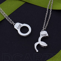 Partners in Crime Friendship Necklace