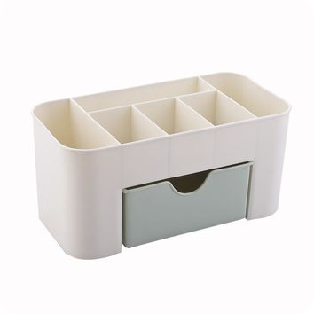Multi-function Table Dresser Makeup Cosmetics Storage Box
