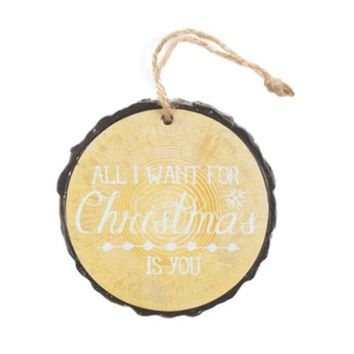 All I Want for Christmas Is You Ornament - 24 Units