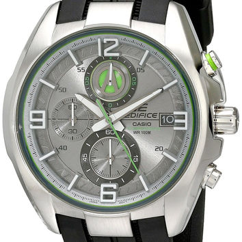 Casio Men's EFR-529-7AVCF Edifice Stainless Steel Grey-Dial Chronograph Watch