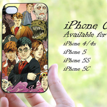 Harry Potter design iphone case for iphone 4 case, iphone 4s case,iphone 5 case, iphone 5s case, iphone 5c case