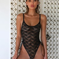 Buy Our Aster Bodysuit in Black Online Today! - Tiger Mist