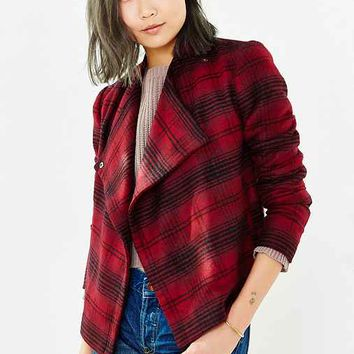 BB Dakota Plaid Quinn Jacket