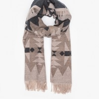 Pendleton, The Portland Collection / Fringed Scarf in Black Senora