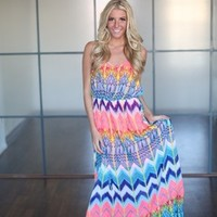 Summer Time Love Maxi Dress