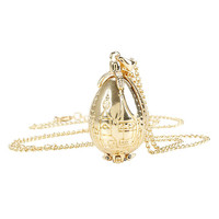Harry Potter Goblet Of Fire Egg Necklace