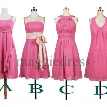 Custom Short Bridesmaid Dresses 2014 Bridesmaid Dresses Party Dress Prom Dress Evening Dresses Homecoming Dresses Wedding Party Dresses