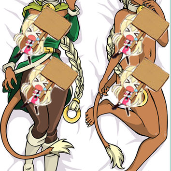 New Aisha Clan Clan Anime Dakimakura Japanese Pillow Custom Designer Furry Dakimakura ADC26