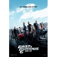 Fast And Furious 6 Poster Standup 4inx6in