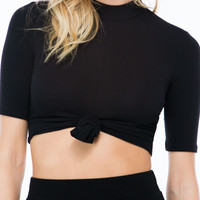 Front And Center Knotted Crop Top GoJane.com