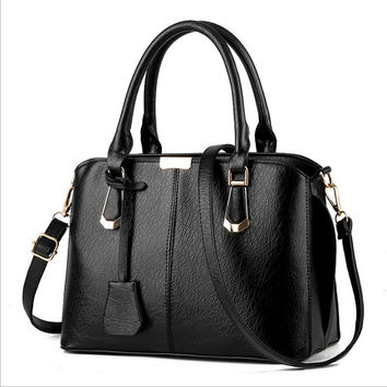 High Quality Women's Leather Crossbody Shoulder Handbag