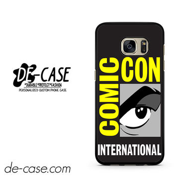 Comic Con Logo DEAL-2808 Samsung Phonecase Cover For Samsung Galaxy S7 / S7 Edge