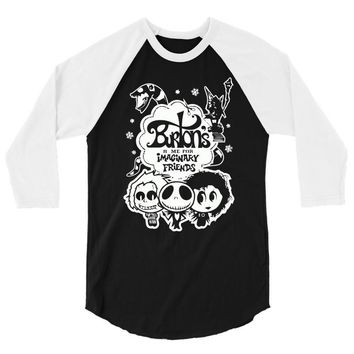 burton's imaginary friends 3/4 Sleeve Shirt