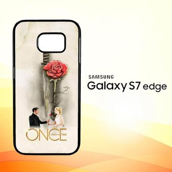 Once Upon A Time Rose X3423 Samsung Galaxy S7 Edge Custom Case