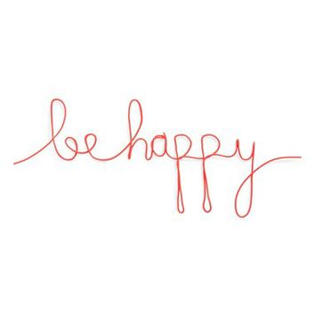 Natural Life 'Be Happy' Wire Wall Art | Nordstrom
