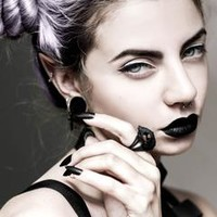 Cat Skull Ring in Black – The Rogue + The Wolf
