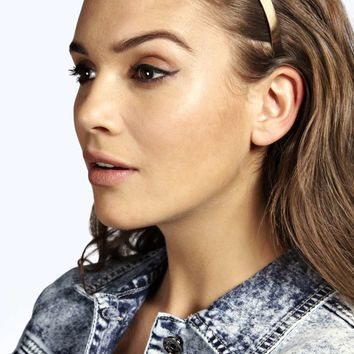 Abigail Simple Metal Headband