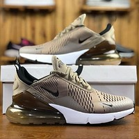 Nike Air Max 270 Sepia Stone Men Sport Running Shoes AH8050-200
