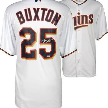 CREYONY Byron Buxton Signed Autographed Minnesota Twins Baseball Jersey (MLB Authenticated)