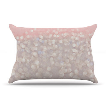 "Debbra Obertanec ""Magical"" Pink Glitter Pillow Case"